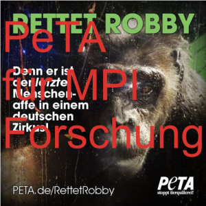 Screenshot PeTA Facebookseite
