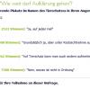 Umfrageergebniss Plakatwerbung Stand: 07.06.2015 https://www.crossvertise.com/umfrage/schockierende-plakate/