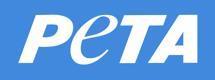 Logo PeTA Deutschland