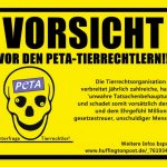 PeTA macht sich mit Strafanzeige lächerlich