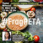#FragPeTA 2- Vegane Ernährung