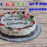 Happy Birthday Gerati wird Zwei