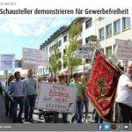 Große Demo in Krefeld
