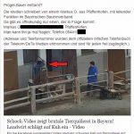 Silke Ruthenberg von Animal Peace veröffentlicht Adresse aus Strafanzeige von PeTA