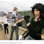 PeTA Anhängerin schießt im Youtube HQ um sich