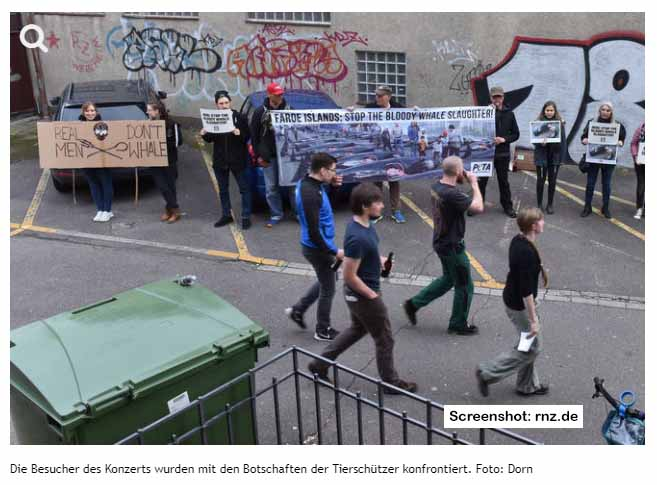 Peta Demo - Screenshot: rnz.de