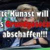 Ex-Landwirtschaftsministerin Renate Künast von den Grünen will Artikel 12 und 14 des Grundgesetzes abschaffen
