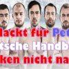 Nackt für Peta! Deutsche Handballer denken nicht nach!